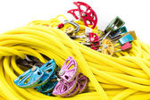 Rock climbing gear close-up — Stock Photo