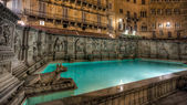 Fonte Gaia, Siena, Italy - HDR — Stock Photo