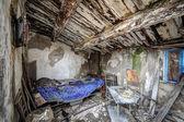 被遗弃的房子内部 — 图库照片