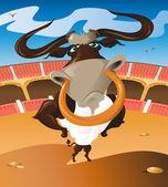 Nessun toro — Vettoriale Stock