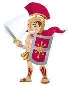 Gladiator — Stock Vector