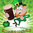 Happy St. Patrick's Day — Stock Vector