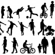 Active People — Image vectorielle