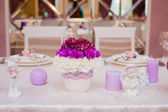 Wedding decor — Stock Photo
