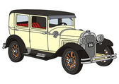 Vintage bil — Stockvektor