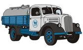 Dairy truck — Stock Vector