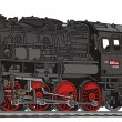 Vector de stock : Steam locomotive
