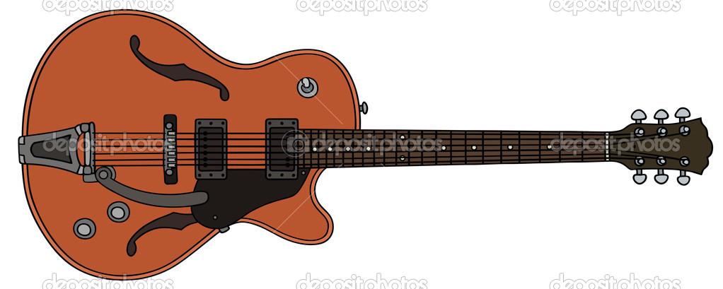 电吉他 — 图库矢量图像08