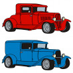 Classic car — Stock Vector #48017171