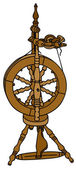 Spinning wheel — Wektor stockowy
