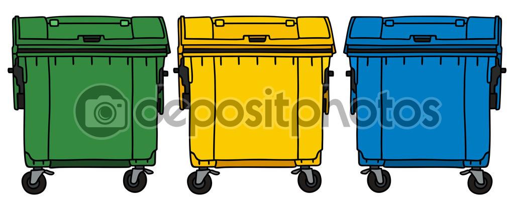 回收 机器设备 垃圾桶