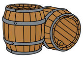 Barrels — Stock Vector