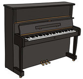 Piano — Vector de stock