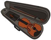 Violin — Vector de stock