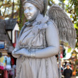 Smiling Angel Statue — Stock Photo