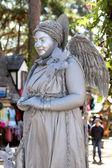 Smiling Angel Statue — Photo