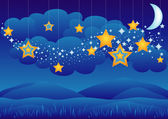 Sweet Dreams — Stock Vector