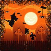 Halloween — Stockvector