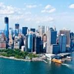 New York City Sky View — Stock Photo