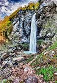 Autumn's Waterfall — Stock Photo
