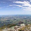 Panoramic View On Salzburg From Top Of The Untersberg — Stock Photo