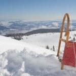 Winter Scenery With Sledge — Stock Photo #41512927