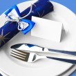 Festive Place Setting — Stock Photo