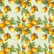 Lemons Seamless Pattern  — Stock Photo