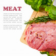 Foto Stock: Raw Meat