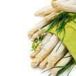 Stock Photo: White Asparagus