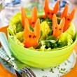 Easter Salad for Kids — Stock Photo