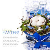 Easter Place Setting — Stockfoto