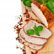 Stock Photo: Roast Pork Loin