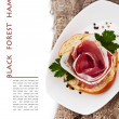 Black Forest Ham — Stock Photo