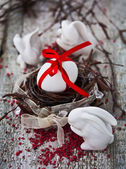 Easter Eggs Nest — Stockfoto
