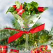 Christmas Party Salad — Stock Photo