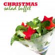 Stock Photo: Christmas Party Salad