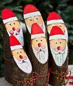 Santa claus rodina — Stock fotografie
