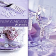 New Year's Eve Dinner — Foto Stock