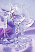 Alcoholic Glasses — Stock Photo