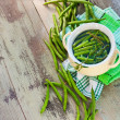 Stock Photo: Green Bean