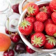 Fruits for home jam  — 图库照片