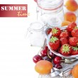 Fruits for home jam — Foto de Stock