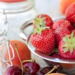 Fruits for home jam — Foto Stock