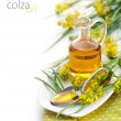 Stock Photo: Rapeseed Oil