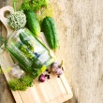 Pickling cucumbers — Stock Photo