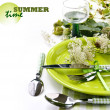 Summer table setting — Stock Photo #35063853