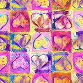 Heart Seamless Pattern — Stock Photo