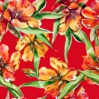 Tulips Seamless Pattern — Stock Photo