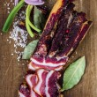 Smoked Bacon — Stock Photo